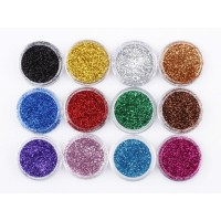Classic beauty glitter powder