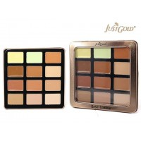 Just Gold Eye-Shadow Palette with 9 creamy and 3 powder contour
