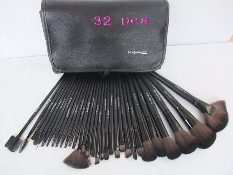 mac makeup 32 piece brush set