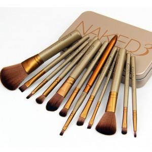 Naked 3 Power Cosmetic Make Up Brush set
