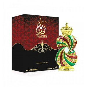 Tanasuk Attar Oil 12ml by Al Haramain Unisex